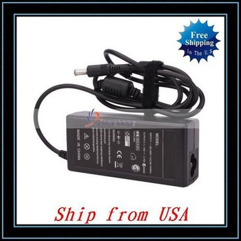 Free Shipping,Wholesale 10pcs/lot Laptop AC Adapter For Samsung Q1 Q10 Q30 Q35 X10 M40 Black Ship from USA-NK303