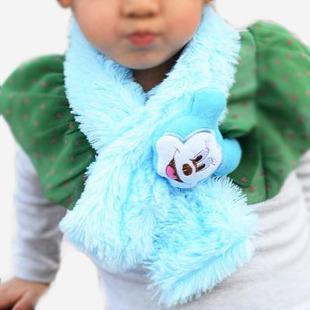 Hotselling Freeshipping WHOLESALE Animal cartoon children scarf plush cartoon scarf kids muffler for winter 12pcs/lot