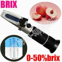 Hand held brix sugar refractometer RHB0-50