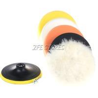 6Pc 6inch High Gross PolishingPad&Buffer Pad For Car Polisher--M14 Thread