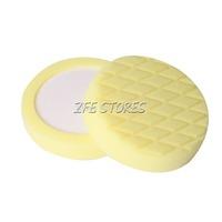 "New 1PC Yellow 6"" T80 Diamond Face T80 Heavy-Cut Foam pad for Car Polishing"