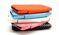 New arrived! Colorful leather case protective cover for samsung N7100 note II  smart phone freeshipping
