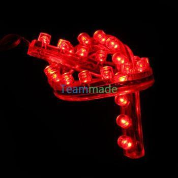 24cm 24 SMD LED Flexible Neon Strip Light Car Van 12V New Waterproof RED