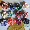 mix rose ploymer clay beads jewelry spacer charms 20mm 15pcs/lot free shipping