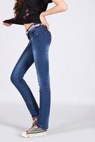 Hot Selling Brand Design Hight Quality Latest New Women's Jeans Big Size Free Shipping