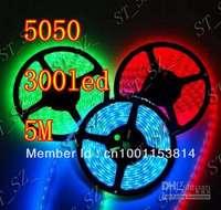 5M 5050 RGB Waterproof 300 LED Strip Light+44Key IR Remote Controller+12V 5A  Power Supply