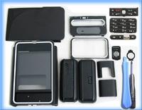 MOBILE PHONE BLACK HOUSING COVER CASE +KEYPAD TOOL FOR NOKIA 3250