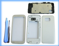 WHITE MOBILE HOUSING COVER CASE +TOOL FOR NOKIA 5530