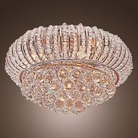 Chandelier Crystal Ceiling lights  Star Shining Crystal 5-Light Flush Mount lights
