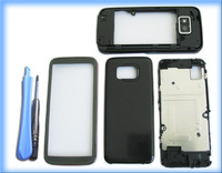 BLACK MOBILE PHONEHOUSING COVER CASE +TOOL FOR NOKIA 5530