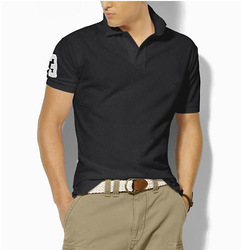 BRAND NEW NWT Classic Polo SHIRT MENS PONY S M L XL XXL SHORT SLEEVE Sport t-shirts MEN'S ATHLETIC CLASSIC COTTON GOLF SHIRT(China (Mainland))