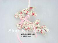 easter decoration-flying bunny hanger-fabric bunny hanger-14designs-by randomly-H14XW21cm-free shipment