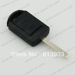 Opel key blank remote key case Corsa car with HU100 blade(China (Mainland))