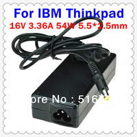 Cheap AC Power Adapter 16V 3.36A 54W 5.5*2.5mm For IBM Thinkpad series Laptop DK036A