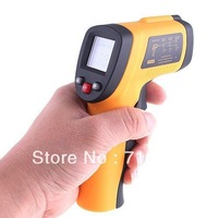 Freeshipping, dropshipping Digital Non-Contact Laser IR Thermometer -50 degree to 380 degree