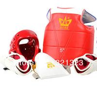 Taekwondo protective gear Thickened resistance fighting armor Taekwondo five  set Free Shipping