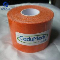 6pcs 5cm*5m Kinesiology Kinesio Tape Pure Cotton Ventilatior Waterproof Olympic Sports Safety Play Football Tennis Badminton