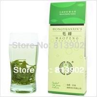 Do promotion!! Free Shipping 2014 Early Spring Green Tea Organic China Huangshan Maofeng 40g Fresh Tea,Yellow Mountain Fur Peak