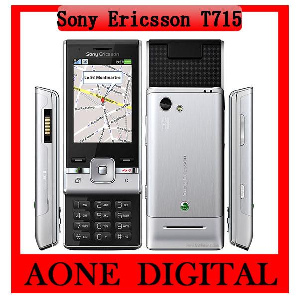 Original Refurbished Sony Ericsson T715 3G Bluetooth Java 3.2MP Unlocked Mobile Phone Free Shipping by China Post(China (Mainland))