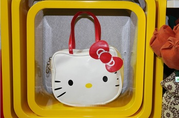Hot sale Hello Kitty bags shopping bag handbag small bag purse 1PC white free ship 820003J