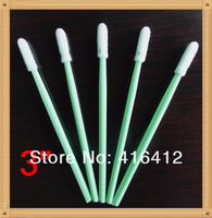 500 pcs Clean Room  Industry Sponge Foam ESD Micro Cleaning Swabs Swabsticks Cleaning Stick  - Replace ITW Texwipe TX742B