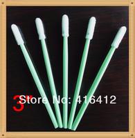 500 pcs Clean Room  Industry Sponge Foam ESD Micro Cleaning Swabs Swabsticks Cleaning Stick  - Replace ITW Texwipe TX742B