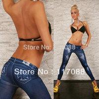 Free Shipping ML7513 Fashion Sexy Leggings Skinny Jeans high waisted Stretch Leggings