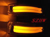 Rear-view mirror lights; turn signals DRL ground lamp case for TOYOTA ALLION, AURION, AURIS, COROLLA AXIO, FIELDER, PORTE,PREMIO