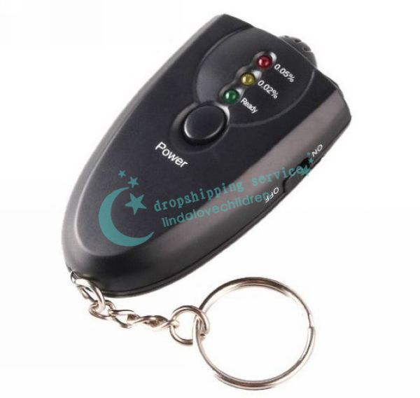 Convenient Portable Accurate Digital Alcohol Breath Tester Analyzer Breathalyzer Free Shipping(China (Mainland))