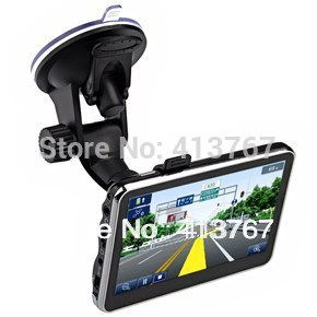 "4.3"" inch TFT-LCD Touch Screen 4GB Car GPS Navigation Navigator with Multimedia Player /FM Radio /TF Slot(China (Mainland))"