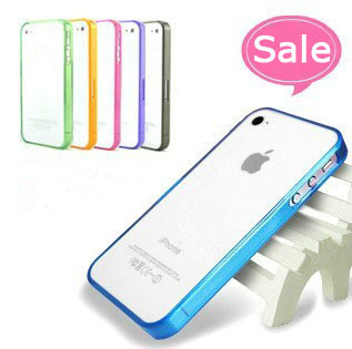 Retail Soft TPU Bumper Case For iphone 4 4S, Free Shipping Via China Post.Zero Profits Factory Price to get good feedback!