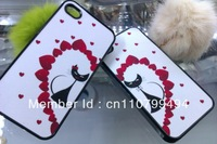 Popular / plastic goods  supply  iphone 4/4S, iphone 5 mobile case 2