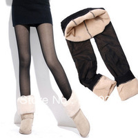 Women's meat legging  thickening plus velvet pants autumn and winter thick trousers