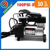 EASTSUN Car Auto 12V Electric Pump Air Compressor Hausfeld 100PSI 35L/Min Portable Tire Inflator Free Shipping