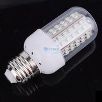 10Pcs/Lot NEW 3W SMD3528 66-LED White E27 Bulb Lamp Light 200~240V Free Shipping 3087