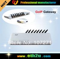 8 Port VoIP GSM Gateway, GoIP Gateway,Free shipping