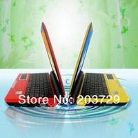 Free shipping  Intel Atom N2550 1.66GHz Dual-core 2GB 320GB Windows7 Notebook PC 10inch Mini Laptop