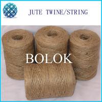Free shipping Natural jute twine 40pcs/lot (2 ply twisted, Dia.: 1.5mm, 110yards/spool) jute rope, diy jute twine