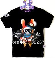 Children's summer fashion wholesale children's wear printing children's T-shirt sale wholesale