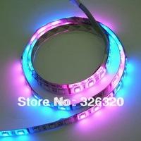 5M 5050 LED Running color led strip 60leds/M   waterproof  strip lighting with led controller