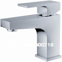 Square design polish shining basin faucets basin taps PY-18035