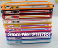 Best Selling Silicone transparent Bumper for   iPhone 4 4S T