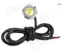 3.8W LED White Light Eagle Eye Car Foglight / Backup / Daytime Running Lamp (DC 12V)