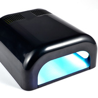 free shipping 36w UV Curing Lamp  Nail Dryer  with  uv lights tube