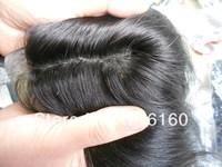 100% remy Brazilian virgin human hair seal konts natural look silk base top closure wholesale price
