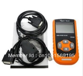 2012 Professional LCD display Car Vehicle VS550 OBD2 EOBD Scanner Code Reader Scan Tool For BMW Chrysler GM