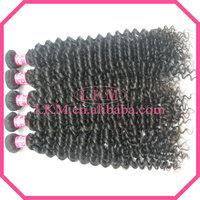 Free Shipping 4pcs/lot, lkm hair peruvian hair extension,remy peruvian curly ,natural color 95-100g/pcs