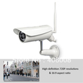"Wireless ip camera outdoor hd 720p, wifi 802.11b/g/n, 100% waterproof, 50"" ir night vision, 32Gb Micro SD DVR + Free shipping"