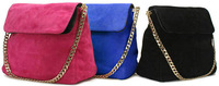 Hot Selling 100% genuine leather bags women's fashion handbags shoulder bags suede leather casual bags inside small bag