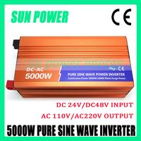 Hot Sell. High Efficiency.5000W DC12V/24V/48V Pure Sine Wave Inverter, Solar Power Inverter